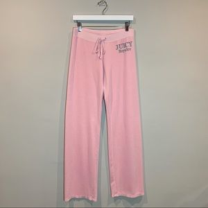 Juicy Couture Velour Pants Pink